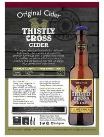 Thistly Cross Original Cider