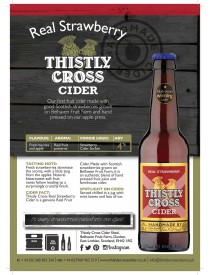 Thistly Cross Strawberry Cider