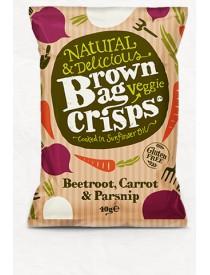 Beertrot, Carrots & Parsnip Crisp