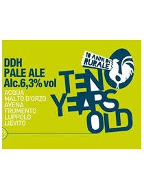 10 Years Old Pale Ale DDH