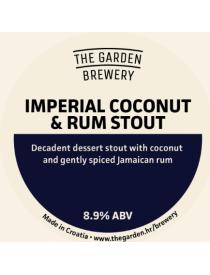 Imperial rum & coconut Stout