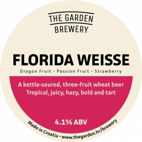 Florida Weisse - Pink Guava, Lychee & Lime